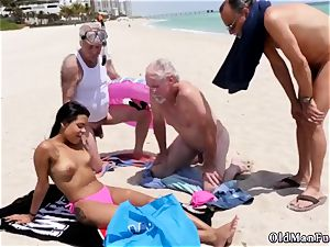 2 older fellows youthfull dame Staycation with a brazilian cutie