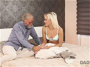 DADDY4K. woman rails senior gent s joystick in daddy porn video