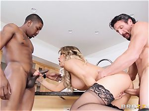 Capri Cavanni fucks her boy and his buddy