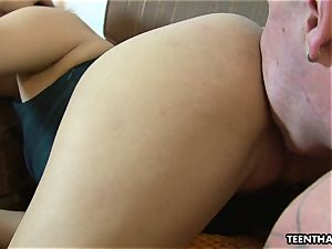 foot fetish lovemaking with a highly steamy chinese woman