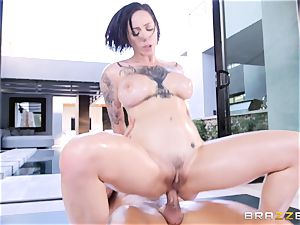 Harlow Harrison screwed in her humid coochie fuck-hole