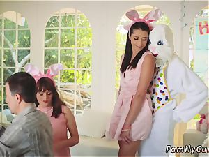 Family milks father ally comrade s daughter-in-law and step smashes his Uncle smash Bunny