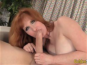 Mature redhead Freya Fantasia Is nailed