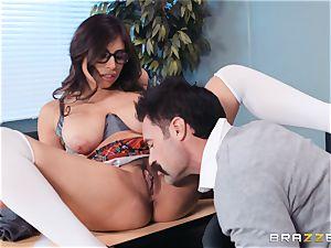 stuffing that immense boner into Ella Knox in class